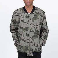 Удлиненный мужской бомбер куртка Light Army Jacket Camo от Galagowear в размере XL
