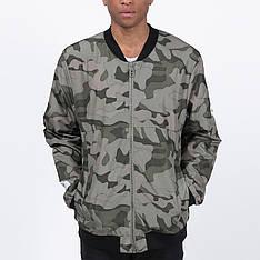 Подовжений чоловічий бомбер Light Army Jacket Camo від Galagowear в розмірі XL