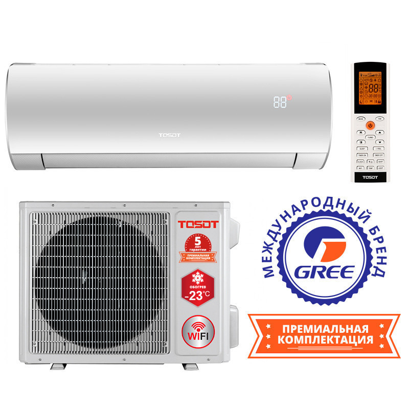 Кондиционер сплит система TOSOT LYRA Winter Inverter GF-24W