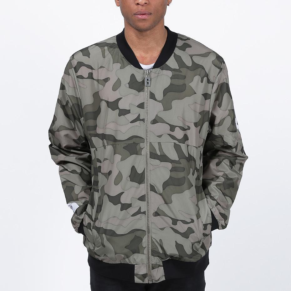 Удлиненный мужской бомбер Light Army Jacket Camo от Galagowear в размере M