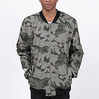 Удлиненный мужской бомбер куртка Light Army Jacket Camo от Galagowear в размере M