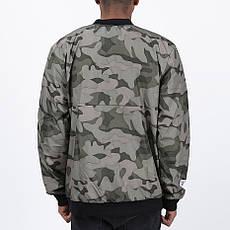 Удлиненный мужской бомбер Light Army Jacket Camo от Galagowear в размере M, фото 2