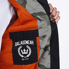 Удлиненный мужской бомбер Light Army Jacket Camo от Galagowear в размере M, фото 3