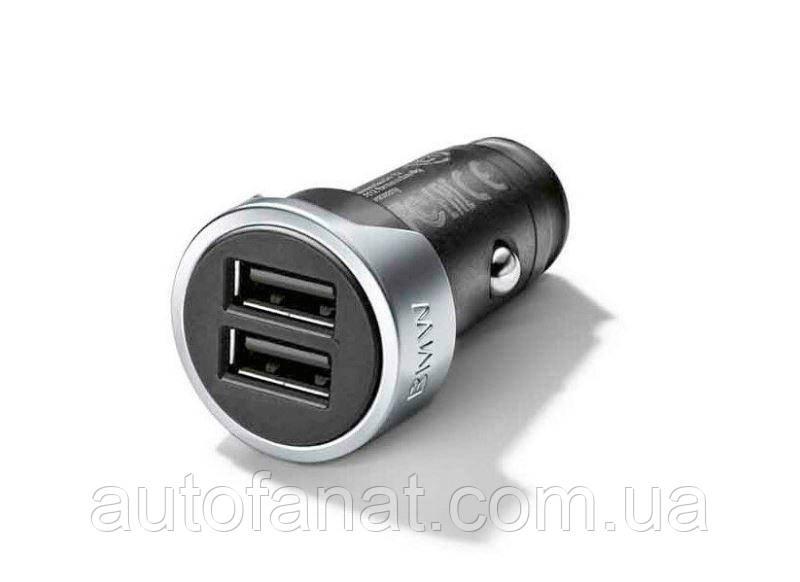 Оригинальное зарядное устройство BMW с двумя разъемами USB (65412458285)