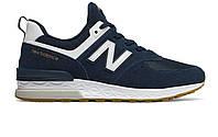 Оригинальные кроссовки New Balance 574 Sport Blue/White (ART. MS574FCN)