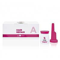 Глибоке відновлення Hair Company Hair Repair Deep Reconstruction «А» Double Action  (10*10 мл)