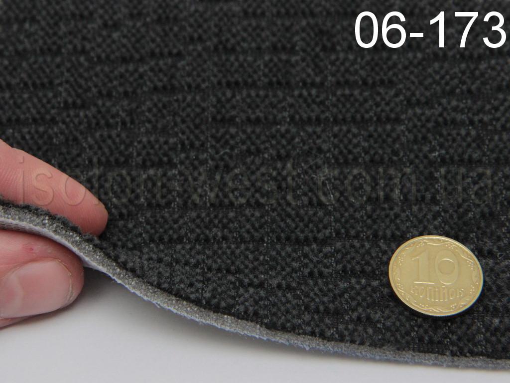 Ткань оригинальная потолочная, цвет графит 06-173, на поролоне и сетке 1,80м.