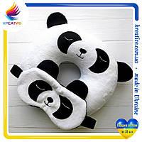 Маска для сна подушка шейная с вашим логотипом под заказ (от 50 шт.)