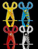 Пластиковые ножницы для детей 12,5 см, Colorino, фото 1
