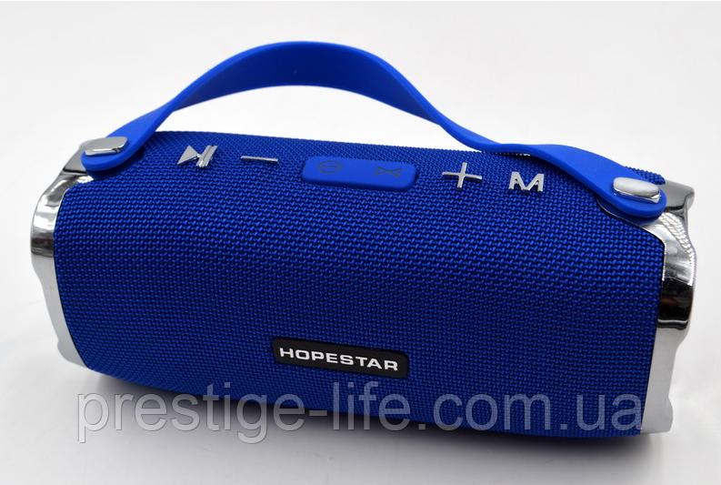 Портативная Bluetooth колонка Hopestar H24 Blue