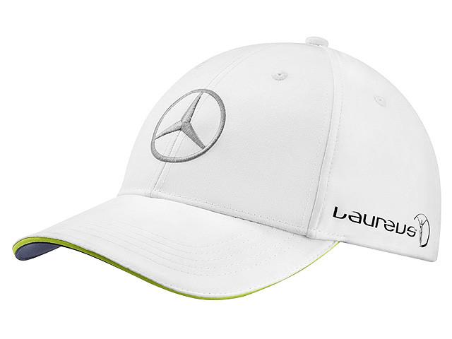 Бейсболка унісекс Mercedes Unisex Cap, Laureus, White, (B66953149)