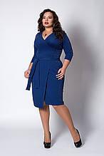 Платье женское из креп-люрекса, размеры 50,52,54,56