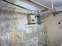 Ін'єкційна гідроізоляція тріщин, швів в бетоні і цеглі