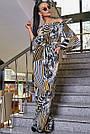 Женский молодёжный брючный комбинезон с открытыми плечами, жёлтый, повседневный, пляжный, с воланами, фото 2