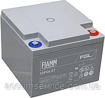 Акумулятор FIAMM 12FGL27 - 12V 27Ah