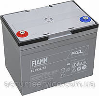 Акумулятор FIAMM 12FGL33 - 12V 33Ah