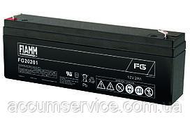 Акумулятор FIAMM FG 20201 - 12V 2Ah