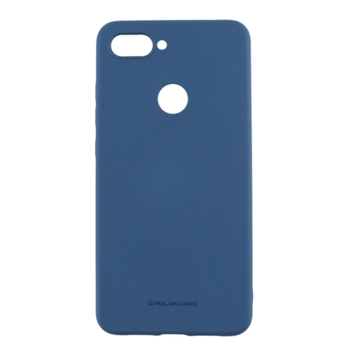 Силиконовый чехол накладка Molan Cano Jelly Case для Xiaomi Mi 8 Lite (blue)