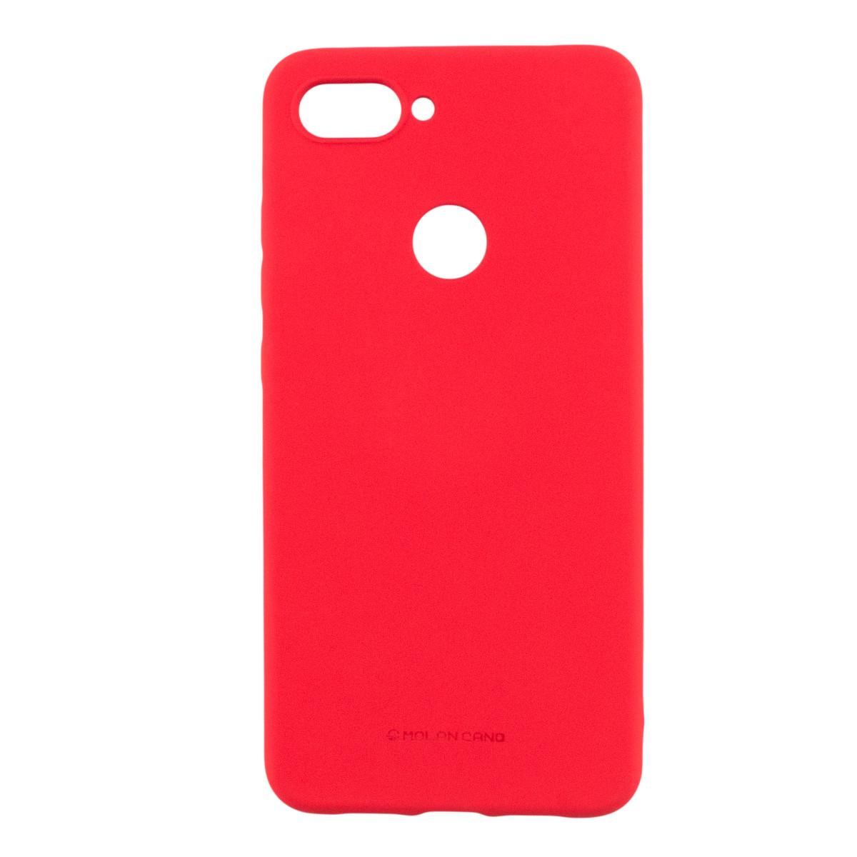 Силиконовый чехол накладка Molan Cano Jelly Case для Xiaomi Mi 8 Lite (red)