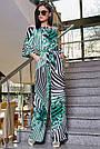 Женский молодёжный брючный комбинезон с открытыми плечами, зелёный, повседневный, пляжный, с воланами, фото 2