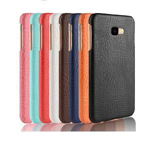Чохол накладка Croco Style для Samsung J4 Plus 2018 / J415 (6 кольорів)
