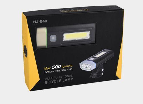 Велофара UltraFire Multifunctional Bicycle Light M48A