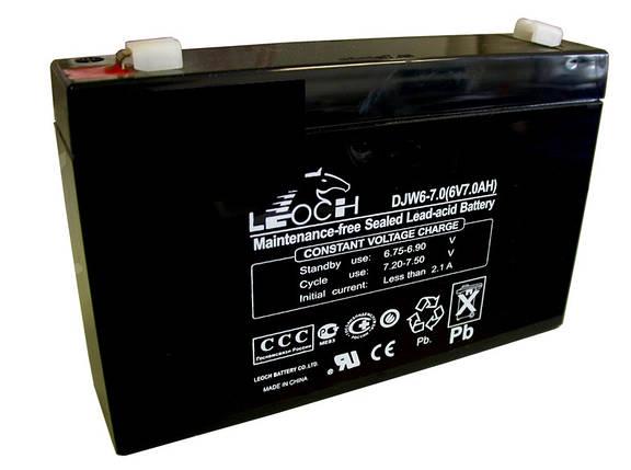 Аккумулятор для детских мотоциклов и электромобилей 6V вольт 7ah ампер, фото 2