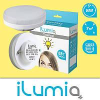 Светодиодная лампа iLumia 8Вт, 560Лм, цоколь GX53, 4000К (нейтральный белый)
