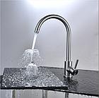 Змішувач для кухні з нержавіючої сталі SUS304 колір матовий Gerts (imperial) 2861 Gerts 2861S, фото 2