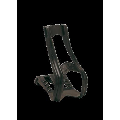 Туклипсы Zefal ToeClip 43 L (4356) пласт. с ремешками, L/XL, черные