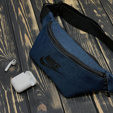 Мужская Бананка синяя Найк (Nike), фото 2