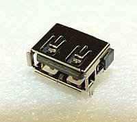 U017 USB Разъем, гнездо  для ноутбуков и материнских плат. КОРОТКИЙ 10 ММ КОНТАКТЫ ВНУТРИ ВНИЗ !!!