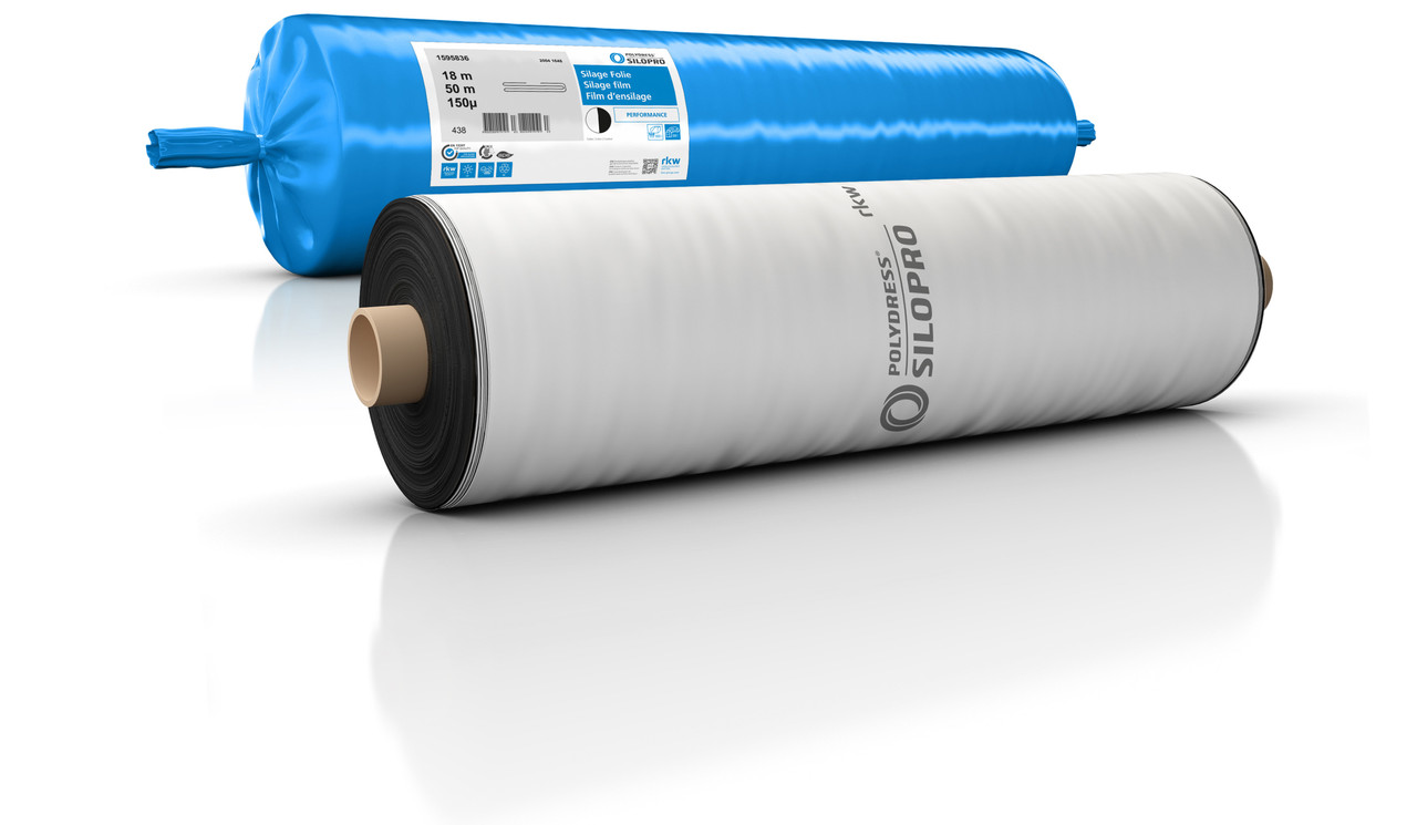 Силосна плівка Polydress 16  х 50 х 150 мкм. ч/б