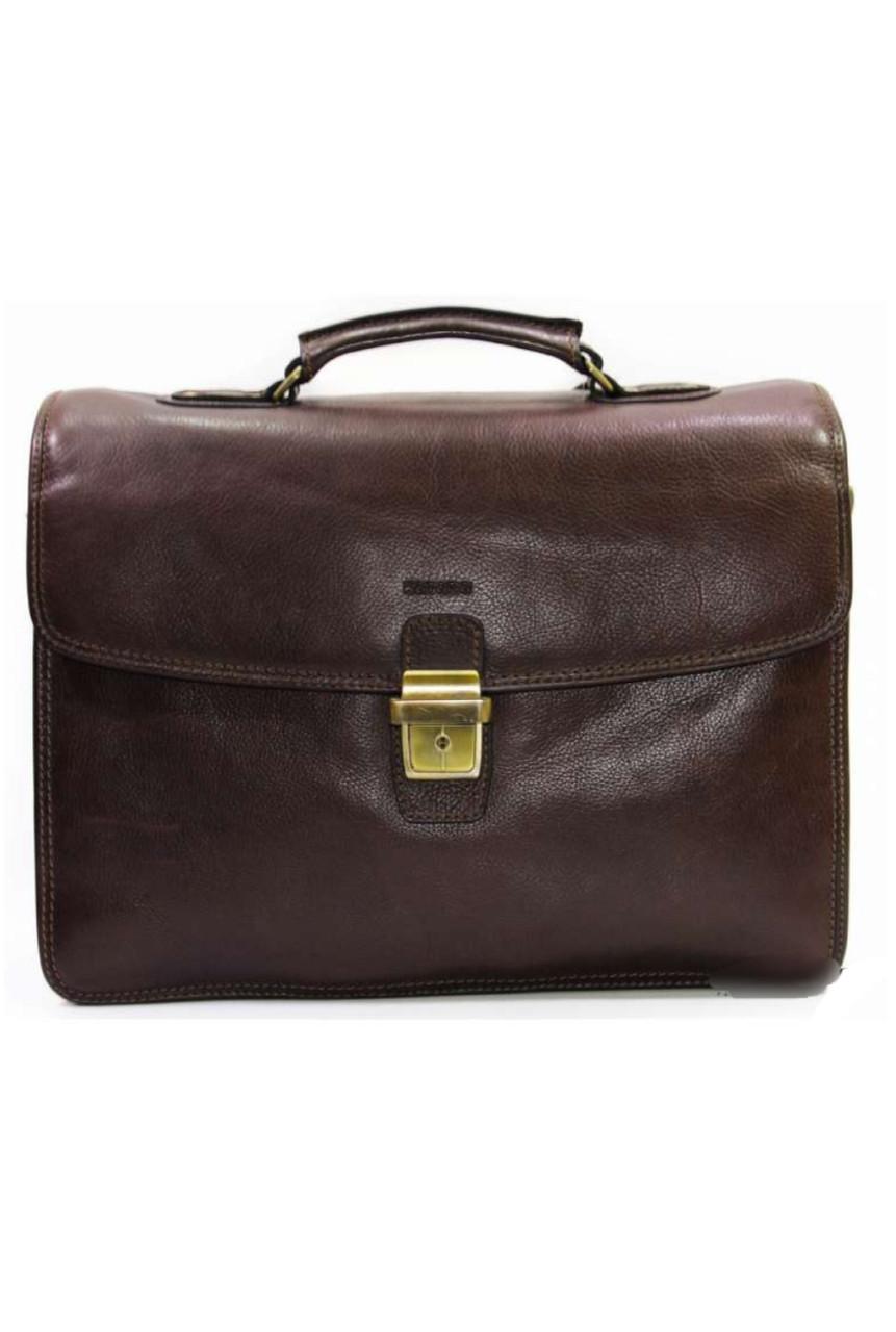 Портфель из натуральной кожи katana мужской коричневый 36838
