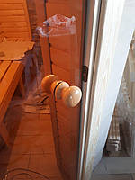 Двери для саун и бань (Украина) 80x200 (бронза)
