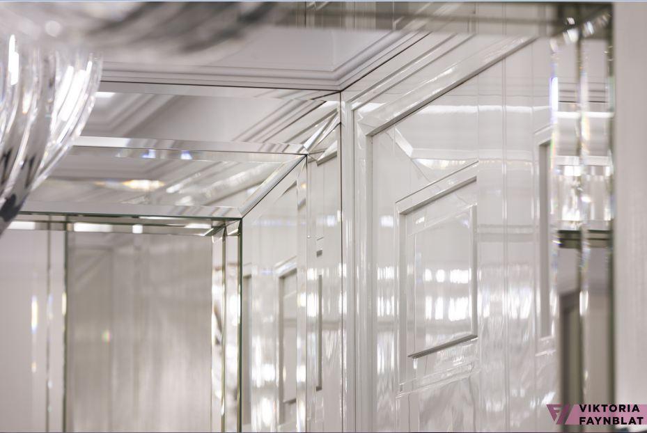 Зеркальные колонны @faynblat @design_faynblat #design_faynblat