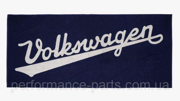 Банное полотенце Volkswagen Classic Bath Towel, Black 311084500