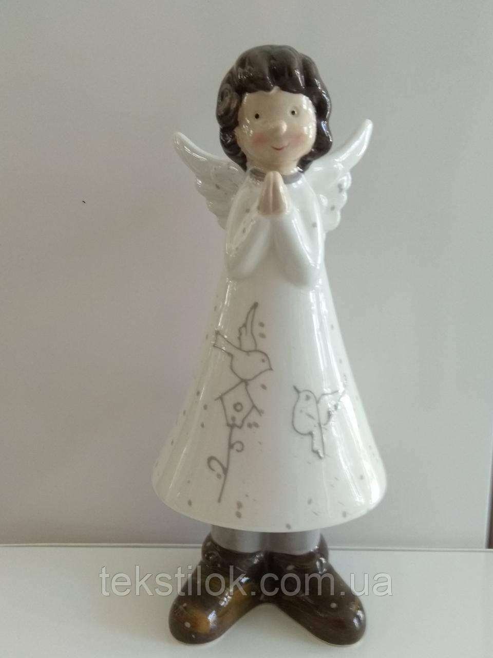 Статуэтка Ангел 23 см.большой - фарфор