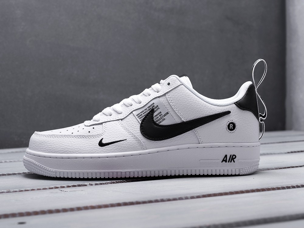 01236965 Мужские кроссовки Nike Air Force 1 LV8 low Black/White [копия ...