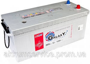 Акумулятор автомобільний Autopart Galaxy Heavy Duty 205AH 1250А