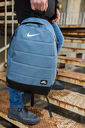 Рюкзак  Nike AIR (Найк) серый, фото 2