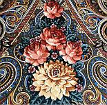 Исполнение желаний 1799-16, павлопосадский платок шерстяной (двуниточная шерсть) с шелковой вязаной бахромой, фото 10