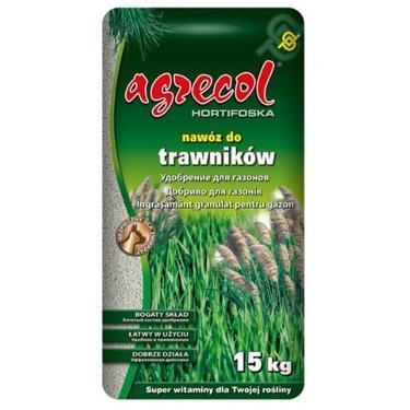Удобрение 15-5-10 Агрекол для газонов (Hortifoska ), 15 кг