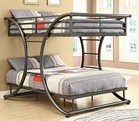 """Двухъярусная кровать GoodsMetall в стиле Лофт """"Экзюпери"""""""