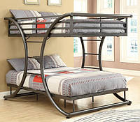 """Двухъярусная кровать из металла в стиле Лофт """"Экзюпери"""""""