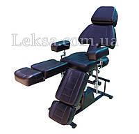 Кресло кушетка педикюрное LS-232 Black