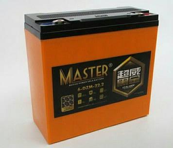 Аккумулятор Bossman 6DZM22.2 (12v 22Ah)