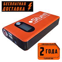 Пуско-зарядное устройство 12000 мА/ч + Power Bank + LED  фонарь 3Вт Sturm BC1212