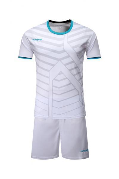 Детская Футбольная форма Europaw 015 белая