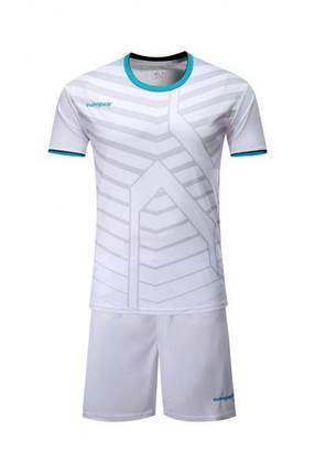 Детская Футбольная форма Europaw 015 белая, фото 2